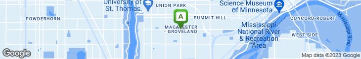 Map of St. Clair Broiler
