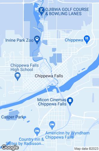 Map of Chippewa Falls
