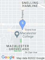 Macalester College map