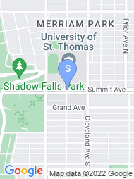 University of St Thomas MN map