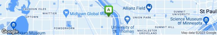 Map of Craftsman Restaurant Bar