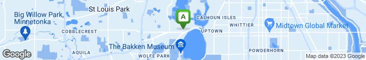 Map of Tryg's American Restaurant