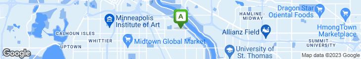 Map of Birchwood Cafe