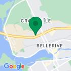 Localisation de la succursale de Valeurs mobilières Desjardins au Salaberry-de-Valleyfield sur la carte Google