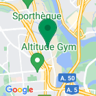 Localisation de la succursale de Valeurs mobilières Desjardins au Gatineau sur la carte Google
