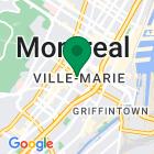 Localisation de la succursale de Valeurs mobilières Desjardins au Montréal sur la carte Google