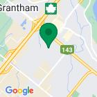 Localisation de la succursale de Valeurs mobilières Desjardins au Drummondville sur la carte Google