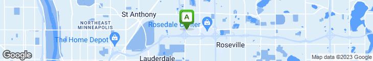 Map of Senser's