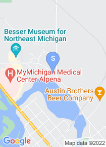 Alpena Community College map