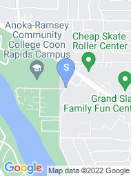 Anoka Ramsey Community College map