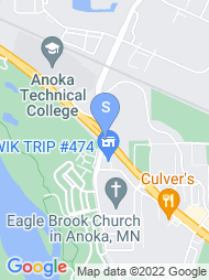 Anoka Tech map