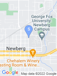 George Fox University map