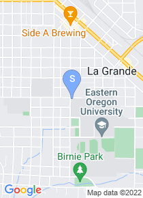 Eastern Oregon University map