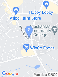 Clackamas Community College map
