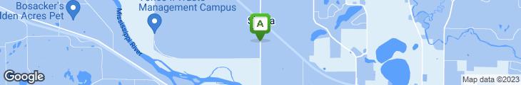 Map of Salida Depot
