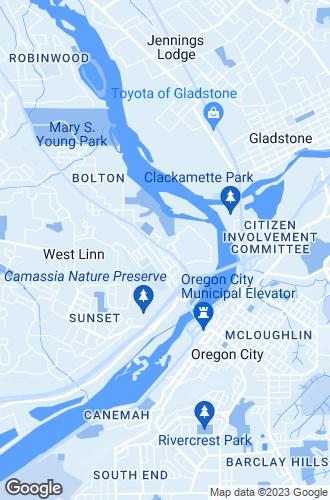 Map of West Linn