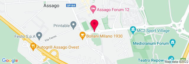 Map for Mediolanum Forum