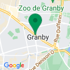 Localisation of Desjardins Securities Granby on Google maps