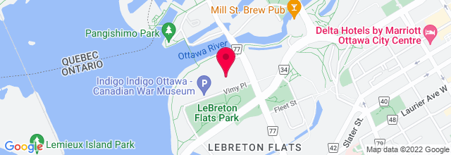 Map for LeBreton Flats