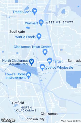 Map of Clackamas