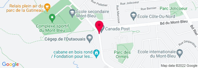Map for Cégep de l'Outaouais