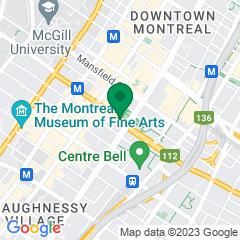 Localisation of Desjardins Securities Montréal on Google maps