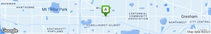 Map of East Garden Restaurant & Lounge