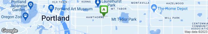 Map of Pita Pit Hawthorne
