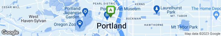 Map of Alexander's Restaurant & Lounge