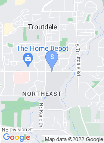 Mt Hood Community College map