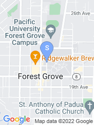 Pacific University map