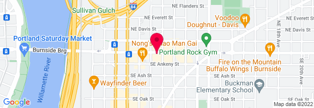 Map for Bossanova Ballroom