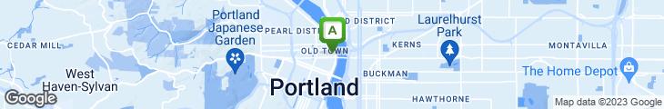 Map of McFadden's Restaurant & Saloon