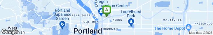 Map of Stanford's Restaurant & Bar