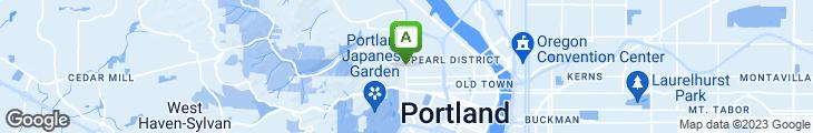 Map of Rose's Restaurant & Bakery