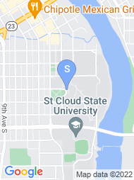 St Cloud State University map