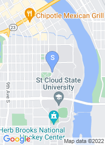 Saint Cloud State University map