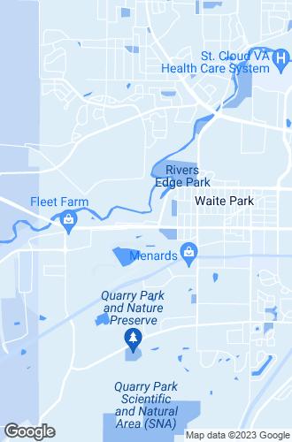 Map of Waite Park