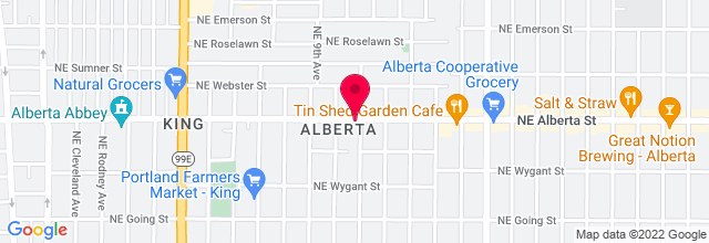 Map for Alberta Street Pub