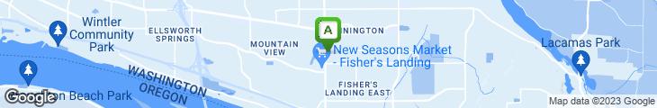 Map of Pita Pit Fishers Landing