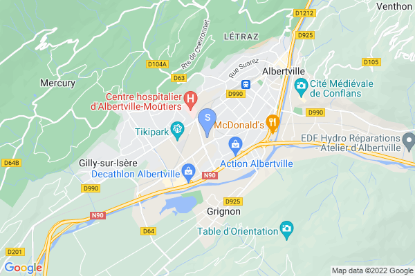 carte - Hockey Club Albertville