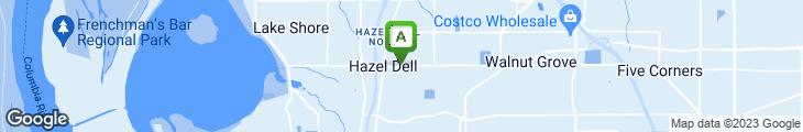 Map of Izzy's Pizza Restaurant