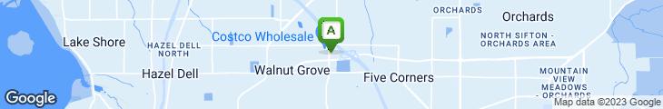 Map of Krispy Kreme