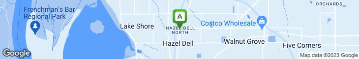 Map of Del Taco