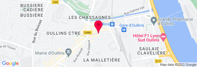 Map for Le Clacson