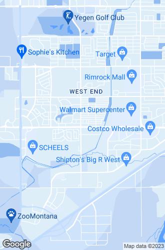 Map of Billings