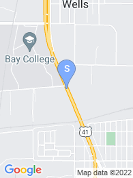 Bay College map