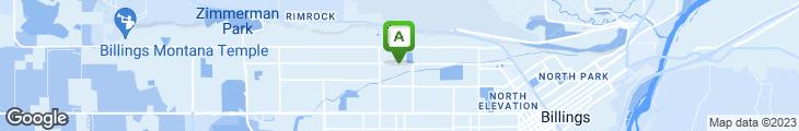 Map of Granary Restaurant