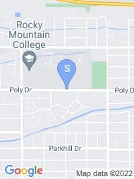 Rocky Mountain College map