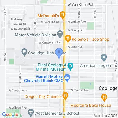 450 N Arizona Blvd, Coolidge, AZ 85128, USA